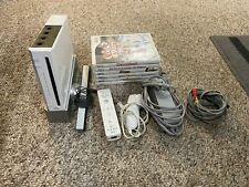 New listing Nintendo Wii Console - White With Games