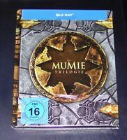 La Momie Trilogie Limitée steelbook Édition blu ray Neuf & Emballage D'Origine