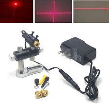 650nm 100mw Laserdiode Kreuz/Dot/Linie Module13x42mm w/Adapter+13.5mm Halter