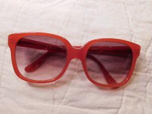 Vintage Red Anne Klein Sunglasses For Riviera