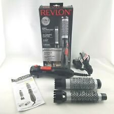 Revlon RV444C Ceramic Hot Air Brush Kit with 1 Inch & 1-1/2 Inch Attachments