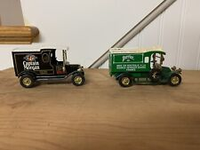 CAPTAIN MORGAN &  PERRIER DELIVERY VAN Truck MATCHBOX MODELS OF YESTERYEAR