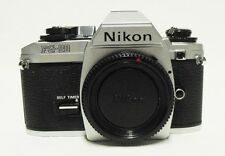 Vintage NIKON FG-20 35mm SLR Film Camera Body Only Tested Meter Working Clean