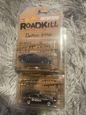Hot Wheels Motor Trend Exclusive Road Kill Datsun 240Z & Rotsun Set