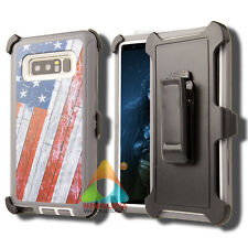 For Samsung Galaxy Note 8 Case (Clip fits Otterbox Defender) Holster Cover Y03