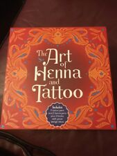 THE ART OF HENNA AND TATTOO, GREAT GIFT BOX SET