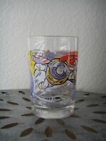 Disney 100 Years of Magic Glass Mug Cup Buzz Lightyear Belle Mickey Mouse Epcot