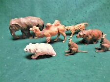 Lot 7 Convolute Vintage Elastolin Lineol Composition & Other Zoo Animals