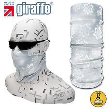 Snow Flake-382 Multifunctional Headwear Neckwarmer Snood Scarf Bandana Headband