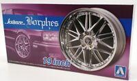 Aoshima 1/24 Scale Four Wheel Set 55281 - Kranze Borphes 19 Inch