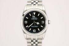 Rolex Explorer I Ref 14270 P Series 36mm Automatic Watch on Jubilee Bracelet
