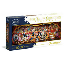 Clementoni Disney Multicolor Jigsaw Puzzle Orchestra Panorama (1000 Pieces)