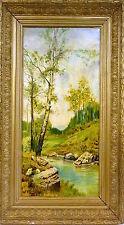 dipinto Frame Circa 1900 (H) . Robert BELGIO/Francia