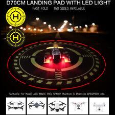 70cm LED Drone Launch Pad Landing Pad Mat Helipad Dronepad For DJI Mavic Phantom