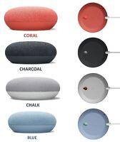 Google Nest Mini Smart Wireless Speaker 2nd Generation Charcoal/Chalk/Coral/Blue