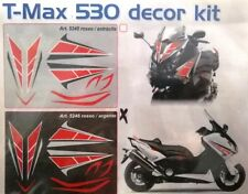 KIT ADESIVI DECOR KIT TMAX T  MAX 530 ROSSO ARGENTO 5246 DECAL STICKERS