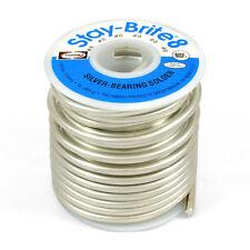 "Harris Stay-Brite #8 Silver Bearing Solder 1/8"" 1 lb Pound Spool, SB861"