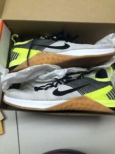 Size 11.5 Men's - Nike Metcon DSX Flyknit 2 White/Black Volt New In Box