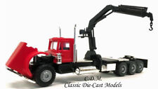 Peterbilt Triple Drive w/Hoist All Terrain Tires Red HO 1/87 Scale Promotex 6373