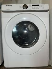 Samsung - 7.5 Cu. Ft. Stackable Gas Dryer with Sensor Dry - White With Warranty