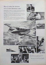 1963 Cessna Aircraft Airplane Plane ORIGINAL OLD AD CMY STORE 5+= FREE SHIP