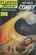 Off On A Comet Jules Verne Classics Illustrated Comic 1966 Silver Age VG-
