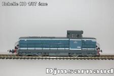 Locomotive Diesel BB 66061 Bleu diesel à plaques Ep III PIKO - 96114.2 - Ech HO