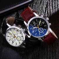 Men's Fashion Luxury Watch Stainless Steel Casual Analog Quartz Wristwatches 1Pc