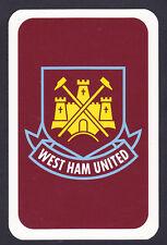 West Ham United. Football Club Single Playing Card