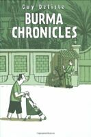 The Burma Chronicles by Delisle, Guy Hardback Book The Fast Free Shipping
