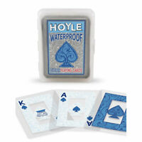Hoyle Clear Waterproof Playing Cards - 1 SEALED DECK - New