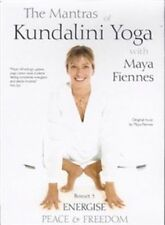 Maya Fiennes - The Mantras of Kundalini Yoga - Energise (DVD, 2012, 2-Disc Set)