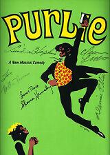 "Melba Moore (Cast Signed) ""PURLIE"" Cleavon Little / Linda Hopkins 1970 Program"