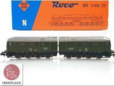 N 1:160 escala locomotive locomotora trenes Roco 23266 BR V188 DB <