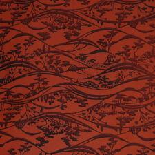 Japanese vintage kimono silk fabric Tranquil Scenery