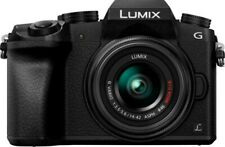 Panasonic LUMIX G7 - Black (W /25mm,14-45(kit lens)70-210 & Sakar 50mm) +4bat