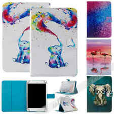 For Samsung Galaxy Tab 2/3/4 E A S2 S3 S4 7~10.5 Universal Leather Case Cover