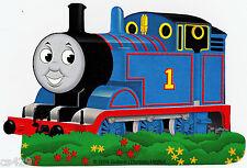 "6"" THOMAS THE TRAIN TANK BLUE  CHARACTER NOVELTY PEEL STICK WALL BORDER CUT OUT"