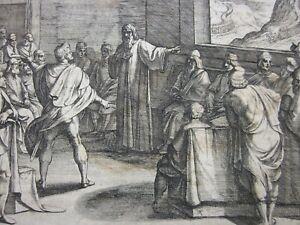 ANTONIO TEMPESTA (1555-1630), Etching c.1611, Romanorvm et Batavorvm societas