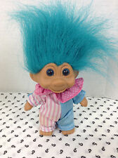 1991 Blue Pink Candy Circus Troll By T.N.T