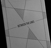 Between the Lines Playing Cards by Riffle Shuffle - SAVE $1!