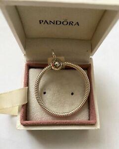 Pandora Silver Moments Medium O Pendant Ale S925