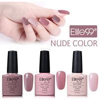 Elite99 Nagellack Farbgel 3 Farben Nude Beige Soak Off UV LED Gel Polish 7.3ML