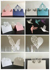 1-100pcs Luxury Laser Cut Table Place Cards Name Number Wedding Party Decoration