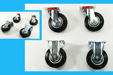 Pesanti ruoli poliuretano Rad 125 mm trasporto ruoli ruote pivotanti ruolo 300 kg