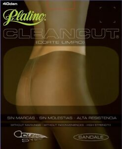 New Platino Cleancut 40 Sheer to Waist SILKY and GLOSSY