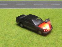 1:87 Mercedes 300E Coupe C124 H0 Motorbrand LED 12V Feuer Laser Cut Patina #14