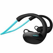 Ep-b34-b aukey Cuffie Bluetooth 4.1 WIRELESS SPORT HEADSET STAFFA flessibile