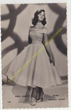 RPPC STAR PIER ANGELI Photo METRO GOLDWYN MAYER Edit P.I. 520