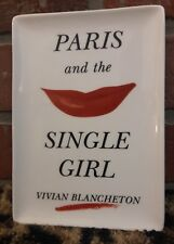 Kate Spade Paris & the Single Girl Lipstick LENOX Valet Tray Vivian Blancheton
